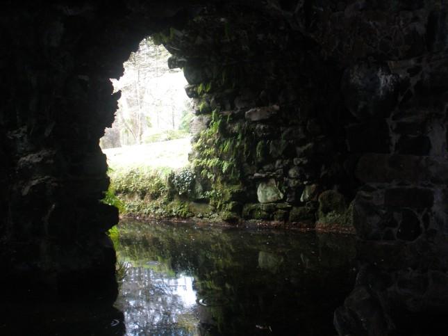 Foto tirada por mim no Parque Terra Nostra